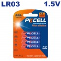 Piles AAA LR03 Ultra Alcaline PKCell 1.5V