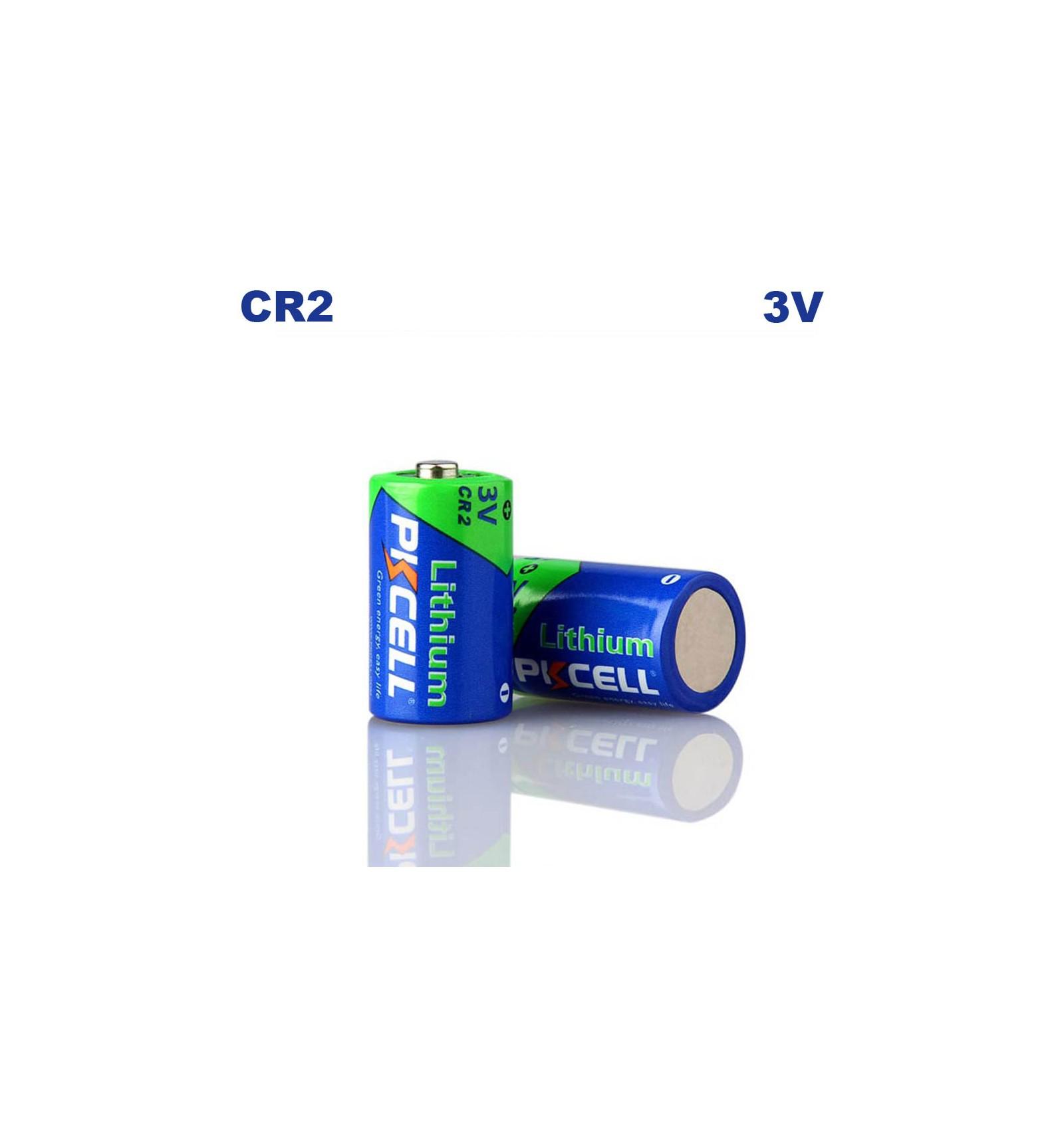 Blister x1 pile cr2 lithium 3v pkcell - Pile cr2 3v ...
