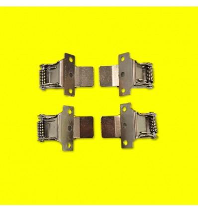 Kit clips pour encastrement pour dalle LED ( lot de 4 pcs )