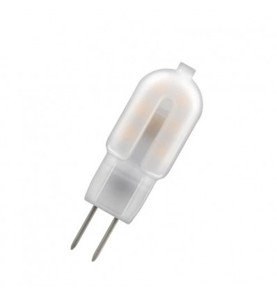 Lot de 5 G4 LED 2W/12V blanc chaud 3000k