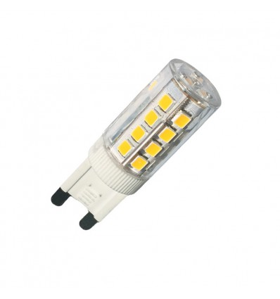 Lot de 5 G9 LED SMD 4.5W blanc froid 6000K