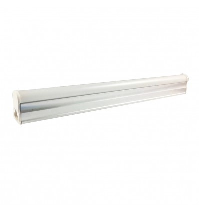 Tube LED T5 8W Blanc Chaud 3000K Longueur 60cm