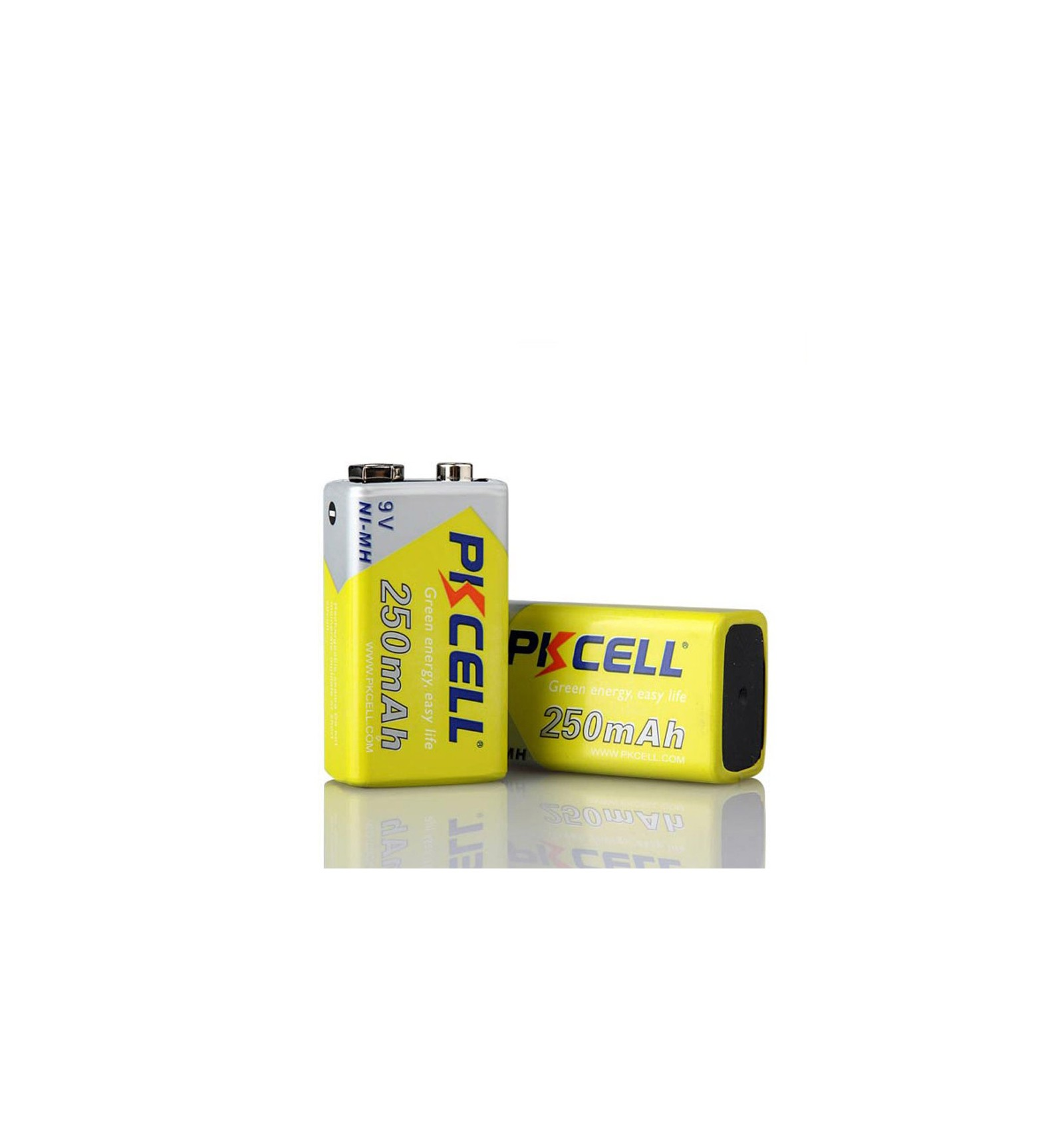 Blister x1 ni mh pile rechargeable 250mah 9v pkcell - Pile 9v rechargeable ...