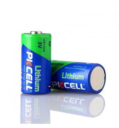 Pile CR123A Lithium 3V PKCell