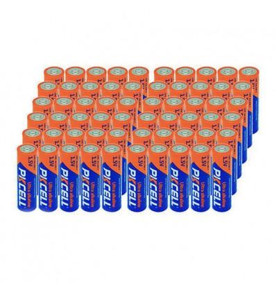 Lot de 144 Piles AA LR6 Ultra Alcaline PKCell 1.5V