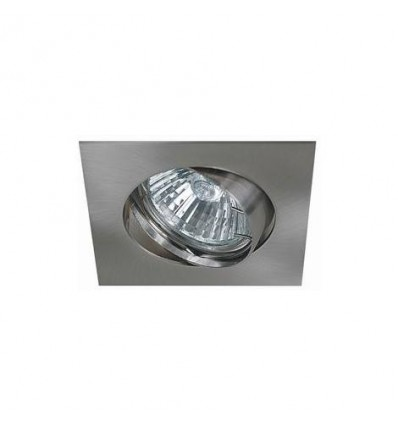 Colerette orientable Inox , Support spot Diametre 75mm