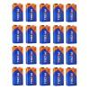 lot de 20 Piles 9V 6LR61 Industrial (Boite de 20)