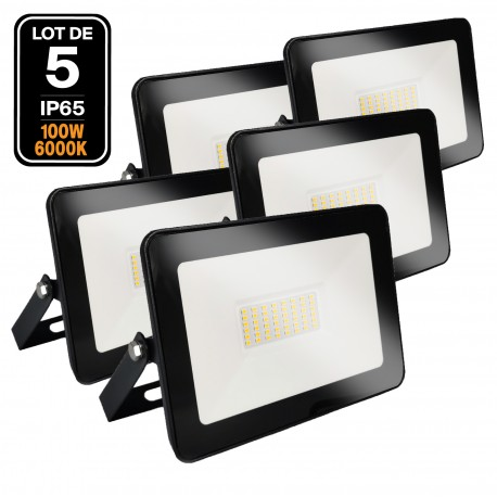 Projecteur LED 100W Black Ipad 6000K Haute Luminosité