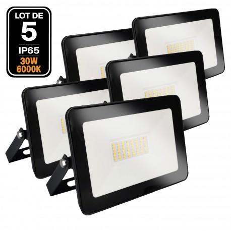 Projecteur LED 30W Black Ipad 6000K Haute Luminosité