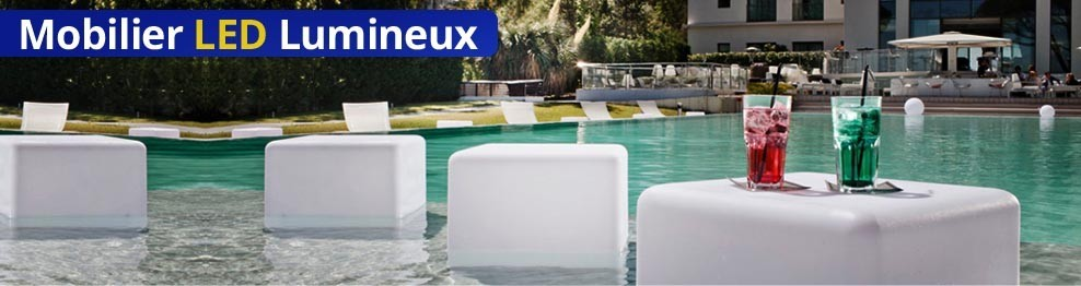 Mobilier Lumineux Led