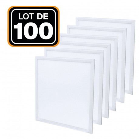 Lot de 5 Dalles Led 40W 60X60 Blanc froid 6000K