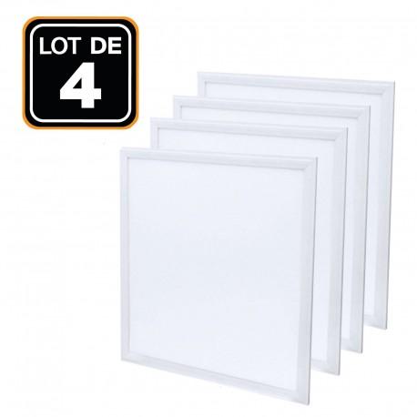 Dalle LED 600x600 40W lot de 2 pcs Blanc froid 6000k Haute Luminosité - Plusieurs modèles disponibles