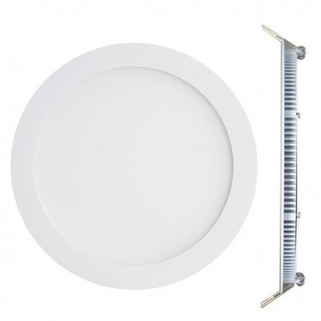 Spot Encastrable LED Downlight Panel Extra-Plat 12W Blanc Chaud 3000k