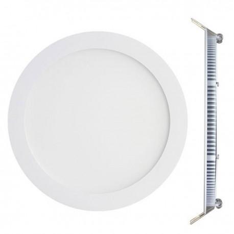 Spot Encastrable LED Downlight Panel Extra-Plat 25W Blanc Chaud 3000K