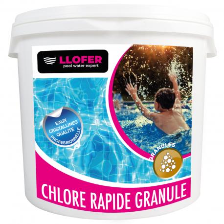 CHLORE RAPIDE GRANULE 1KG