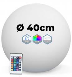 Ball bright multicolor LED 40CM wireless