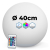 SPHERE LUMINEUSE LED RGBW SANS FIL 40 CM