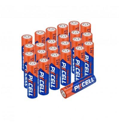 Lot de 24 Piles AA LR6 Ultra Alcaline PKCell 1.5V