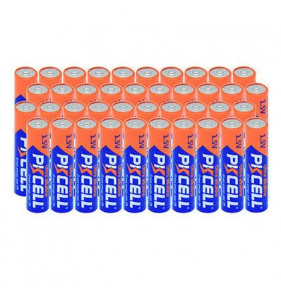 Lot de 96 Piles AAA LR03 Ultra Alcaline PKCell 1.5V