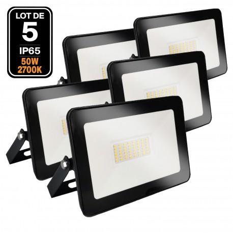 Projecteur LED 50W Black Ipad 2700K Haute Luminosité