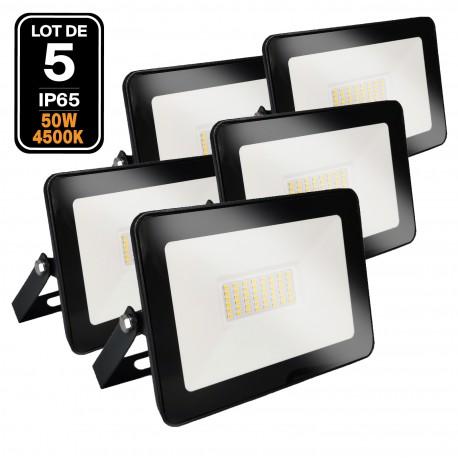 Projecteur LED 50W Black Ipad 4500K Haute Luminosité