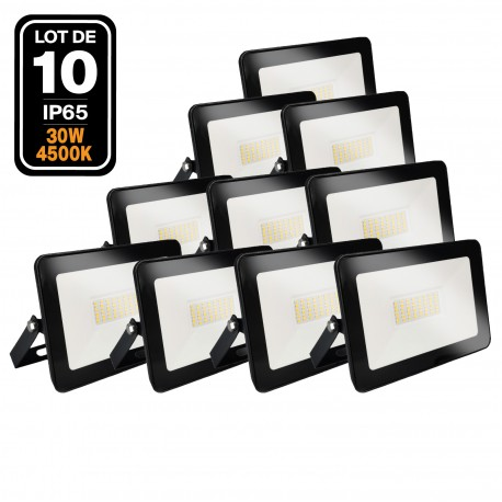 Projecteur LED 30W Black Ipad 4500K Haute Luminosité