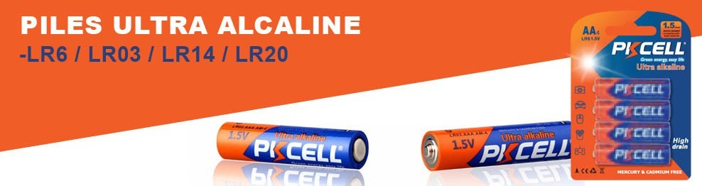 Piles Alcalines PK Cell
