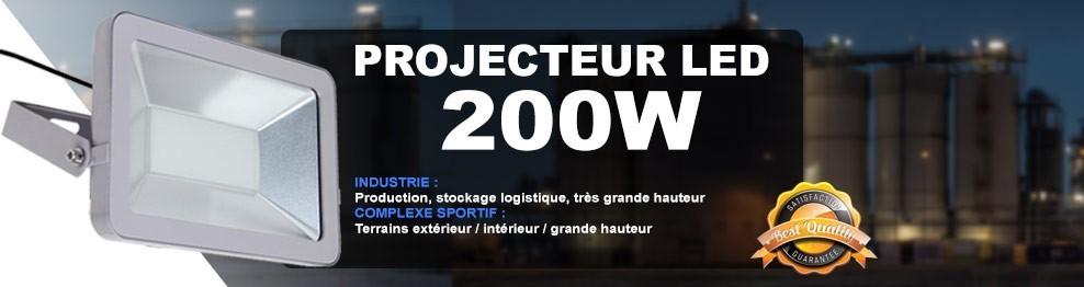 Projecteur Led 200W